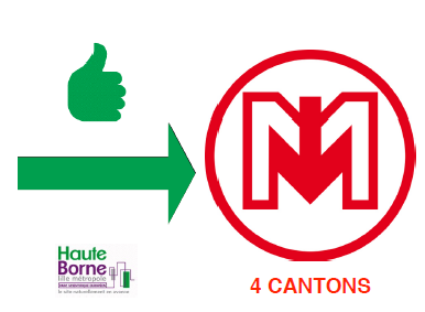 Auto stop 4 cantons